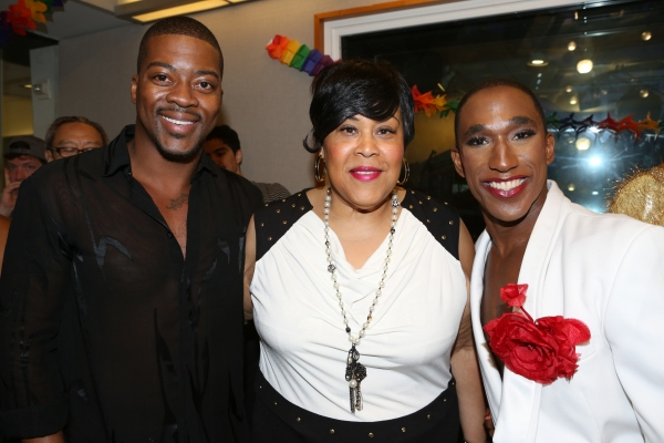 Kendrell Bowman, Martha Wash and Anthony Wayne