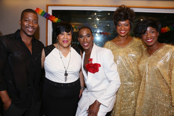 Kendrell Bowman, Martha Wash, Anthony Wayne, Jacqueline Arnold and Anastacia McCleskey