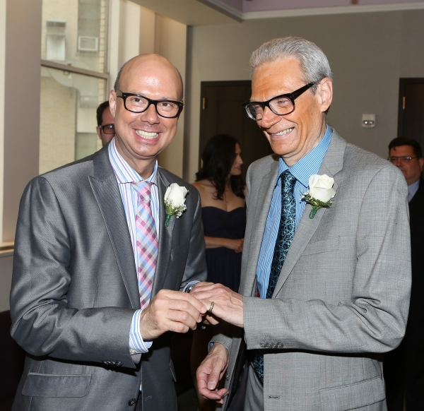 Photo Coverage: A Broadway Wedding! Richard and Preston Ridge Tie the Knot