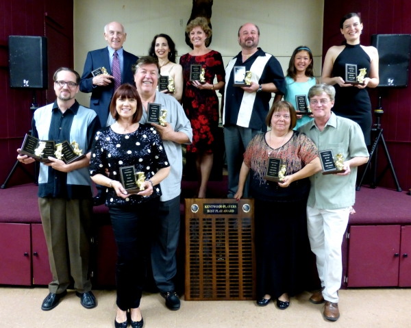 Photo Coverage: Kentwood Players Announces Winners of 2013-2014 Marcom Masque Awards