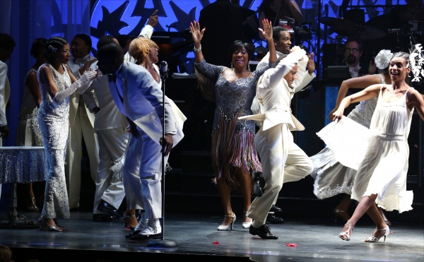 Adriane Lenox, Dule Hill, Karine Plantadit and Patti LaBelle  with the ensemble cast