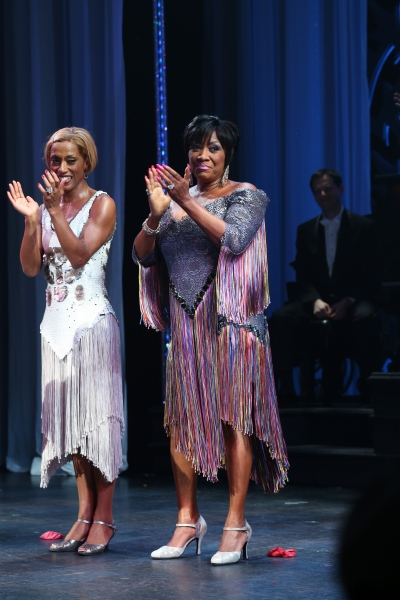 Karine Plantadit and Patti LaBelle