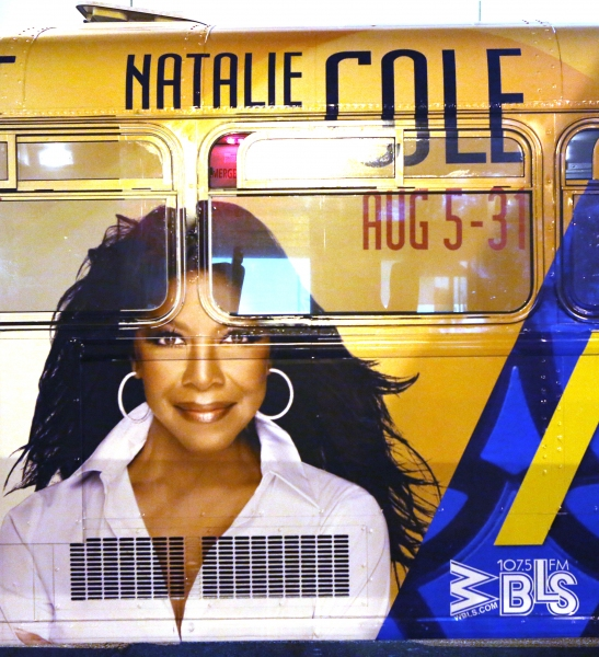 Bus AD Campaign for ''After Midnight'' starring Patti Labelle, Gladys Knight and Natalie Cole