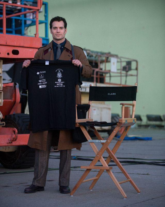 Photo: First Look - Henry Cavill as Clark Kent in BATMAN V SUPERMAN