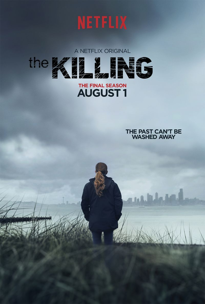 First Look - Key Art for Season 4 of Netflix's THE KILLING