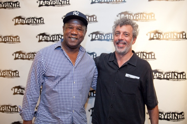 Isiah Whitlock Jr. and Eric Bogosian