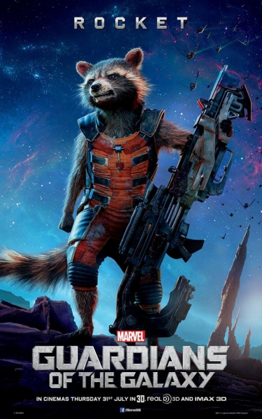 Photo Flash: First Look - New Character Posters for GUARDIANS OF THE GALAXY