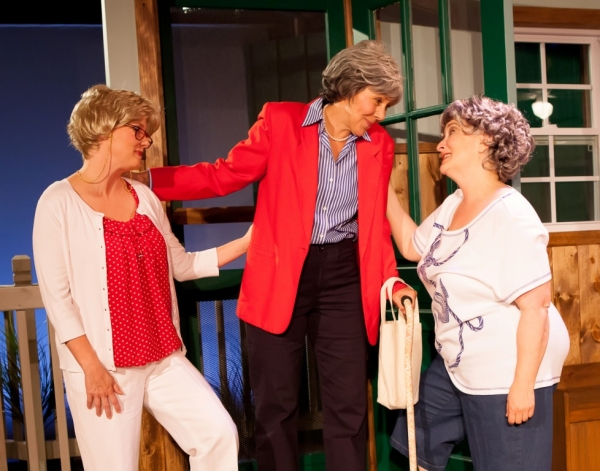 Georgia Rogers Farmer as Lexie, Joy Williams as Sheree, Jacqueline Jones as Jeri Neal