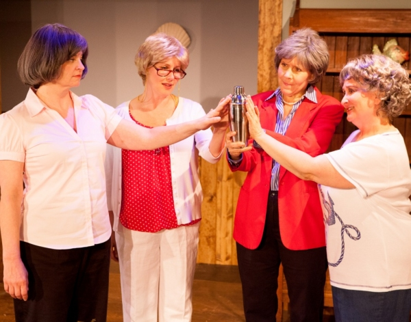 Jennifer Frank as Verandette, Georgia Rogers Farmer as Lexie, Joy Williams as Sheree and Jacqueline Jones as Jeri Neal