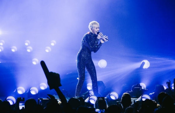 MILEY  CYRUS: BANGERZ TOUR -- Pictured: Miley Cyrus -- (Photo by: Olivia Malone)