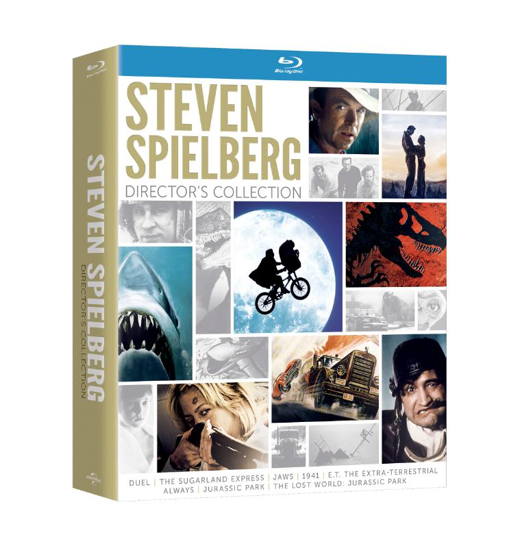 Universal Studios to Release Steven Spielberg Director's Collection on Blu-ray/DVD, 10/14