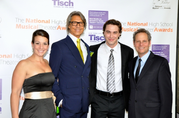 Keisha Lalama, Tommy Tune, Ryan McCarten and Van Kaplan
