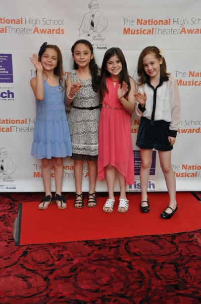 From Matilda The Musical-Paige Brady, Ava Ulloa, Gabriella Pizzolo and Ripley Sobo
