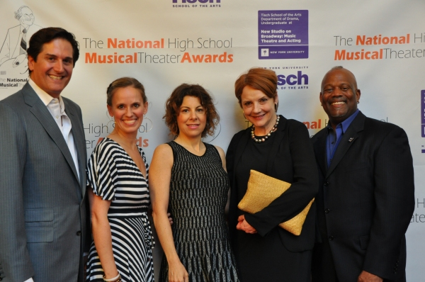 The Judges of tonight''s event-Kent Gash, Rachel Hoffman, Arielle Tepper Madover, Tara Rubin and Nick Scandalios