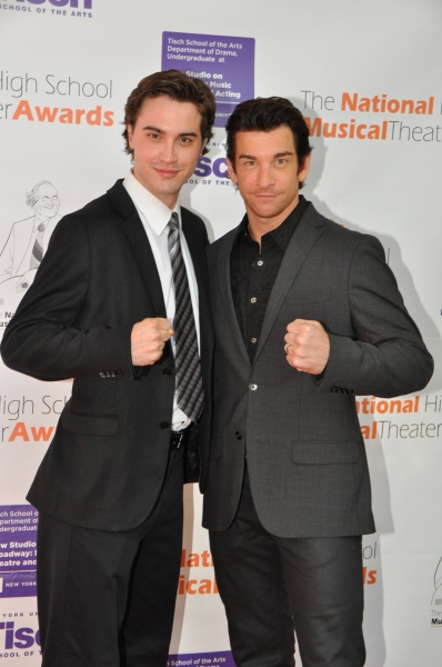 Ryan McCartan and Andy Karl