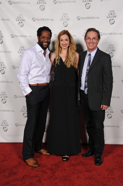 Cast members Blair Underwood, Kristen Connolly, and Richard Thomas