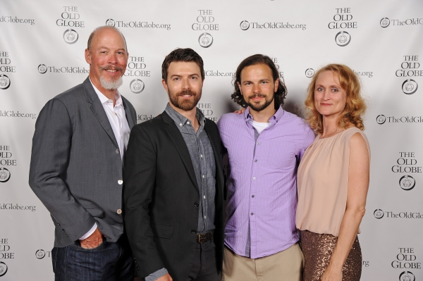 Cast members Mike Sears, Noah Bean, Jonny Orsini, and Angela Reed