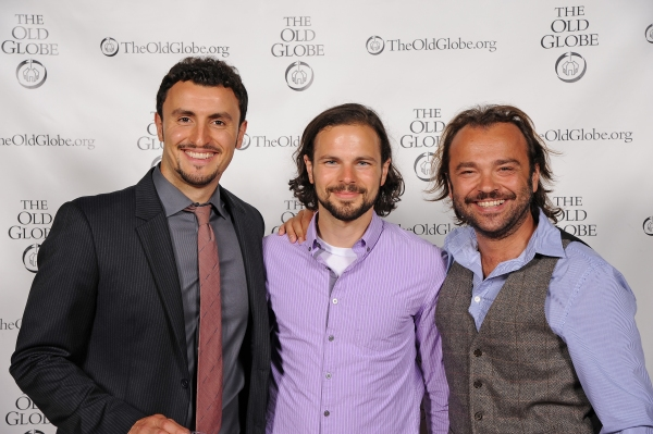 Cast members Lowell Byers, Jonny Orsini, and Kushtrim Hoxha