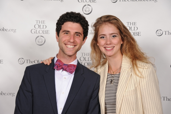Cast members Adam Gerber and Charlotte Bydwell