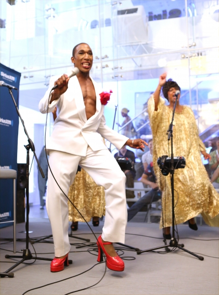 Photo Coverage: MIGHTY REAL Gives Pride Preview on  Larry Flick's Sirius XM Radio