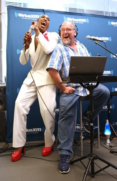 Anthony Wayne with Larry Flick