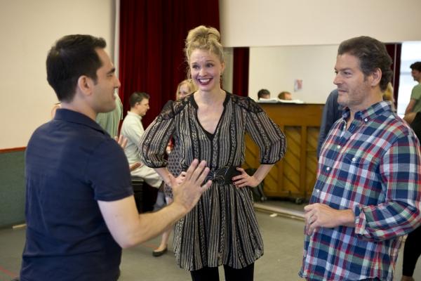 Director/Choreographer Stephen Nachamie, Amy Bodnar, Kevin Spirtas Photo