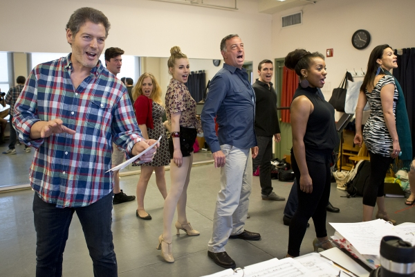 Photo Flash: In Rehearsal with Kevin Spirtas and More for MR. CONFIDENTIAL at NYMF