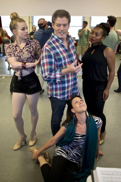 (clockwise from left) Elyssa Samsel, Kevin Spirtas, Badia Farha, Alena Watters