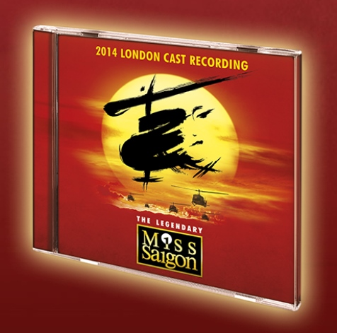 Pre-Order Sign-Up Now Available For New 2014 MISS SAIGON Live Recording
