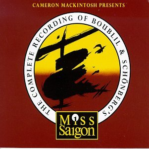 Reissue Of Complete Recording Of MISS SAIGON Set For 8/19