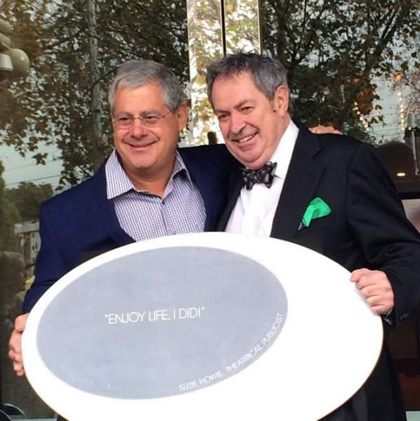 Cameron Mackintosh and Paul Taylor