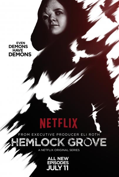 Photo Flash: Netflix Releases All-New HEMLOCK GROVE Season 2 Character Posters