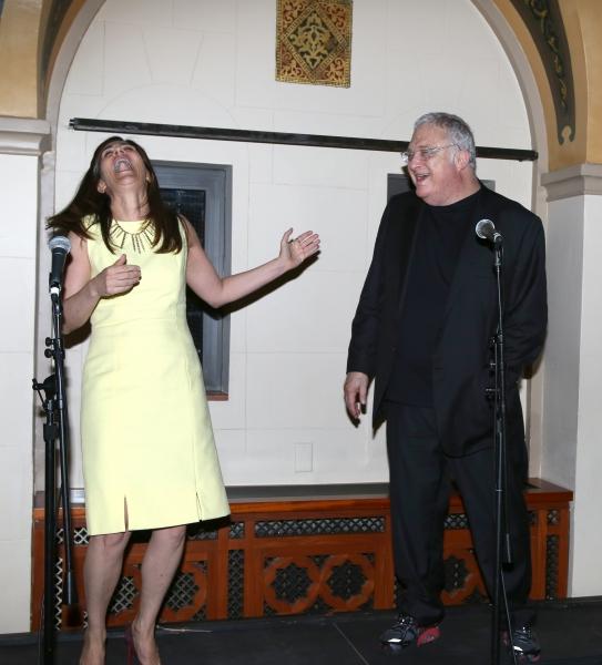 Jeanine Tesori and Randy Newman