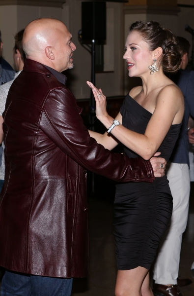 Michael Cerveris and Laura Osnes