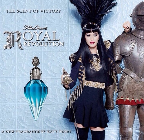 Katy Perry Launches New Fragrance 'Royal Revolution' on Instagram!