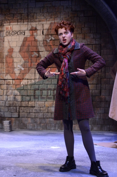Tosca Giustini as Gabriella Pecs in David Edgar's Pentecost Photo