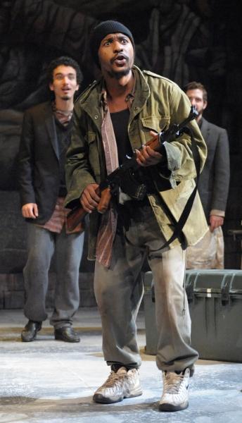Aubrey Dube as Antonio in David Edgar's Pentecost