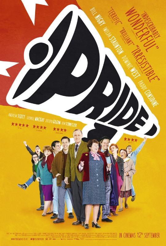 Poster & Trailer Revealed For PRIDE, Starring Imelda Staunton & Bill Nighy