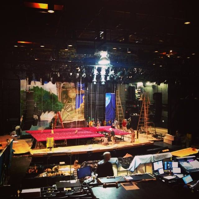 Behind The Scenes Of FINDING NEVERLAND Set Construction