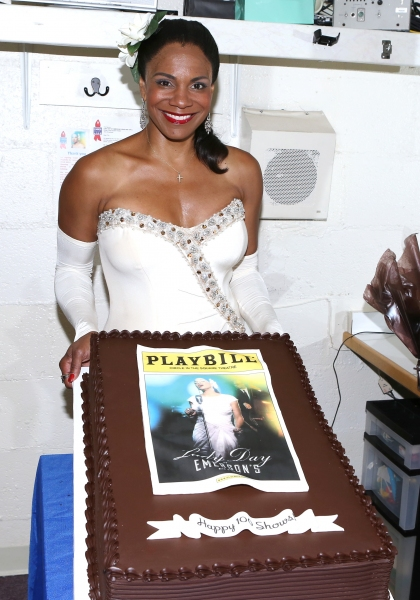Photo Coverage: Audra McDonald Celebrates 100th Performance at LADY DAY AT EMERSON'S BAR & GRILL