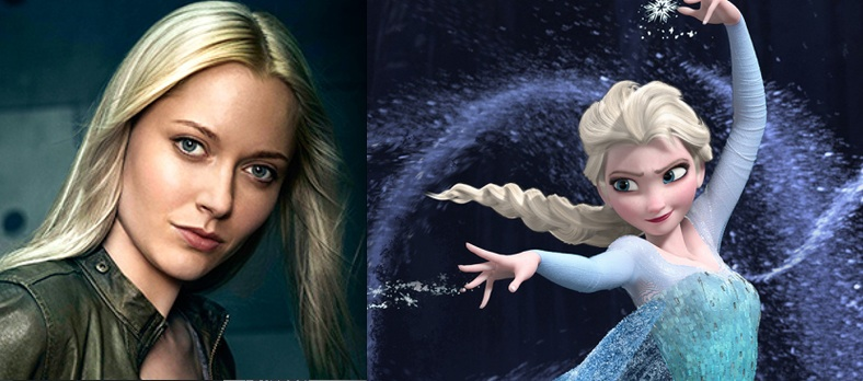 ABC's ONCE UPON A TIME Casts FROZEN's 'Elsa'!