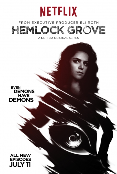 Photo Flash: First Look - Netflix Shares More HEMLOCK GROVE Season 2 Character Posters
