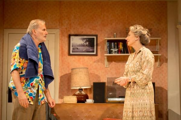 Billy (Oliver Cotton) and Elli (Maureen Lipman)  Photo