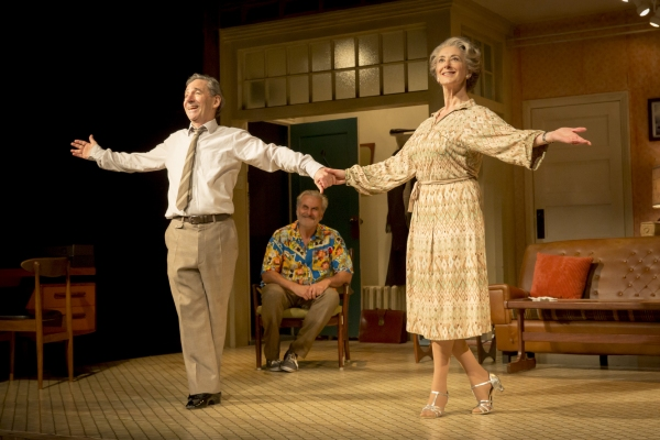 Joe (Harry Shearer), Billy (Oliver Cotton) and Elli (Maureen Lipman)