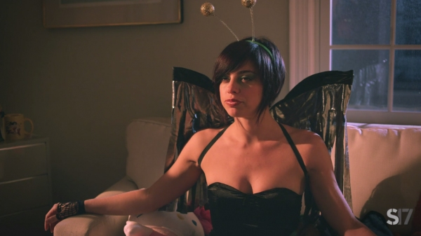 Photo Flash: Broadway's Krysta Rodriguez Guest Stars in IAN, Episode 3 - 'The Fly Goddess'