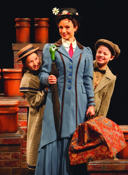 Photo Flash: First Look at MARY POPPINS at Music Circus