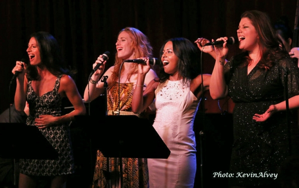 Jackie Burns, Teal Wicks, Adrienne Warren and Jane Monheit