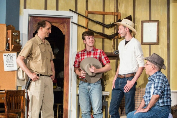 Photo Flash: First Look at THE RAINMAKER at The Sherman Playhouse