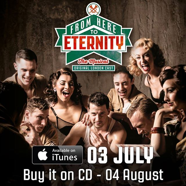 FROM HERE TO ETERNITY Cast Recording Now Available For Pre-Order On CD, Out 8/5