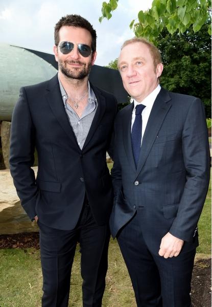 Bradley Cooper and François-Henri Pinault